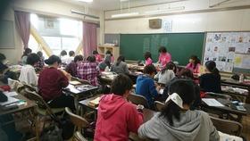 田島小20171006ふれあいフェスタ準備1