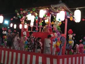 大久保小201080825夜宮踊り1
