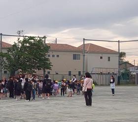 大久保小20190509災害訓練3
