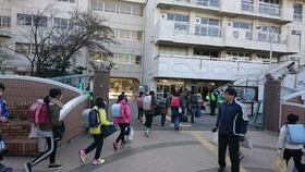 中島小20190108あいさつ運動1