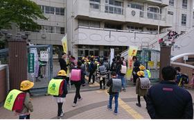 中島小20190408あいさつ運動3