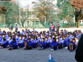 大久保中20171111クリーン活動1