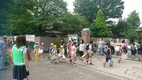 田島小20170829あいさつ運動2