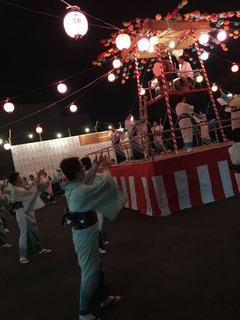 大久保小20180810五関踊り2