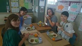 栄和小20180622給食試食会3