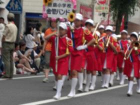 田島小20170716浦和パレード2