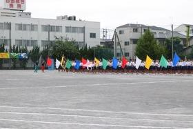 上大久保中20170916体育祭1