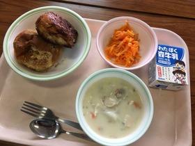 大久保中20171208給食試食会1