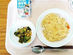 田島中20180717わかめ給食1