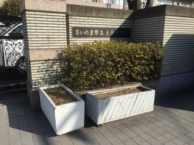 土合中20180304花植活動1