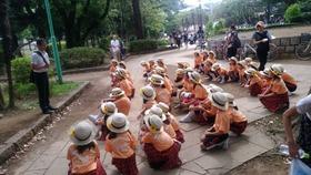 新開小20170716浦和祭りパレード4