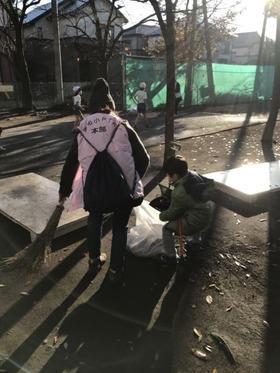 栄和小20171202緑のボランティア2