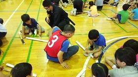 中島小20170623スポーツチャンバラ3