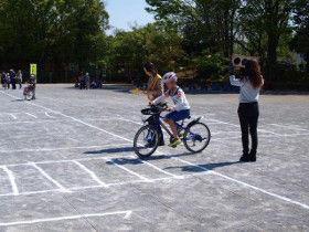 中島小自転車講習4