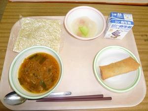 田島中試食2