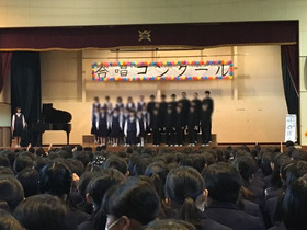 上大久保中20171028合唱コンクール7