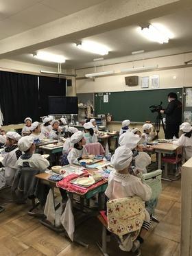 田島小20180309復興支援給食3