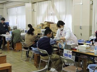 田島中献血