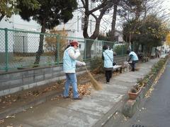 栄和小 緑のボランティア13120901