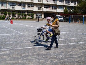 中島小自転車講習3
