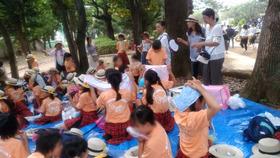 新開小20170716浦和祭りパレード3