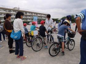 神田小20170610自転車講習会4