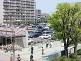 市大病院駐車場全景