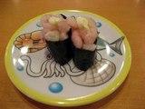 かっぱ寿司甘えび軍艦巻