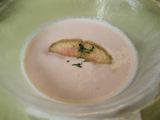 リリーヌ桃の冷製スープ