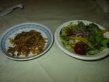 川菜ザーサイ&サラダ