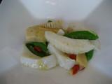 春野菜と文甲イカのあっさり炒め