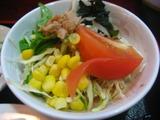 上海屋のサラダ