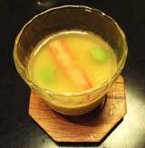 甲羅冷茶碗蒸し