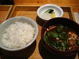 文化食堂ご飯とみそ汁