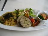 山菜と竹の子の和風スパランチ