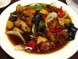 長江鶏肉甘酢炒め