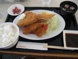 ロイヤルホスト魚フライ御膳