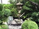 桑山美術館庭と灯篭