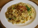 ヴァルーガ野沢菜と卵とジャコのピラフ