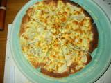 串安ジャコとサクラエビのピッツア