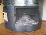 イタリア軽食みたに暖炉