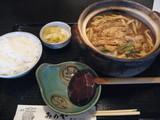 みのや牡蠣入り味噌煮込み定食