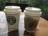 スタバ本日のコーヒーとカフェモカ