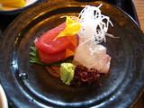 上天ぷら膳のお造り