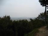 安土城跡からの景色