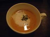 中中の冷製スープ