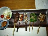 串安串焼きの盛合わせ