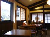 五箇山カフェ店内