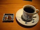 伽藍コーヒーと小菓子