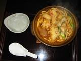 成仁天ぷら入り味噌煮込み
